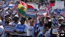 Protest imigranata u Vašingtonu