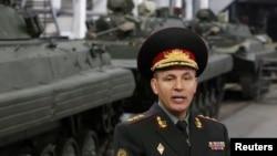 Bộ trưởng Quốc phòng Ukraine Valery Heletey