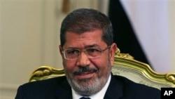 Egypt President Mohamed Morsi July 31, 2012