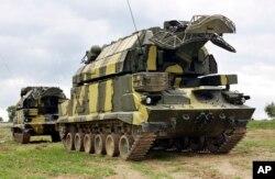 Российский ЗРК Тор-М1