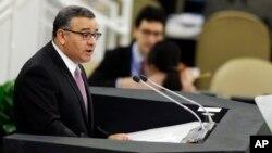 Carlos Mauricio Funes Cartagena, presidente de El Salvador está convencido que en la ONU elaborarán una agenda conjunta para el 2015 en beneficio de toda la humanidad.