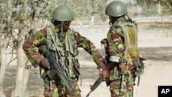 肯尼亞軍方戒備防範襲擊。