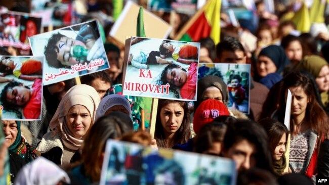 联合国安理会讨论土耳其在叙利亚东北部军事行动