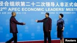 Predsednik Barak Obama i kineski predsednik Ši Djinping