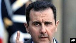 ئهسهد: دهسـتێوهردانی دهرهکی له سوریا بومهلهرزهی لێـدهکهوێتهوه