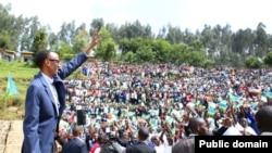 Perezida Paul Kagame muri Nyabihu mu ntara y'Uburengerazuba bw'u Rwanda