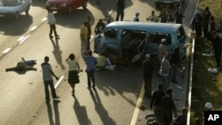 南非开普敦城的一处车祸现场。(资料照片)