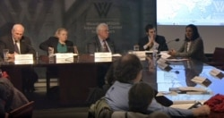 The New Silk Road Initiative Post-2014: Fatema Sumar & Fred Starr - The Wilson Center, Jan 22, 2015