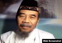 Budayawan asal Semarang, Jawa Tengah, Prie GS. (Foto: screenshot)