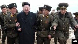 Rêberê Koreya Bakur Kim Jong Un.