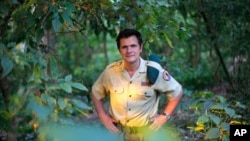 Park director Emmanuel de Merode believes Virunga National Park will survive two decades of warfare. The photograph was taken a year before he was ambushed by gunmen.