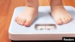 Un enfant obèse