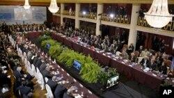 En la cumbre de Montevideo, Venezuela asumió por primera vez la presidencia pro témpore del Mercosur.