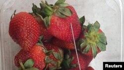 澳大利亞北部食品店發生首宗草莓藏針案