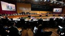 Los gobernantes de la región llamaron al diálogo a las naciones implicadas para evitar una escalada que ponga en riesgo la paz mundial en el marco de la Cumbre de las Américas celebrada en Lima, Perú.