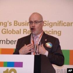 麦柏利(Barry Macdonald),环球香港商会主席