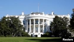 Salah satu sudut halaman Gedung Putih di Washington DC, 8 November 2016. (Foto: dok).