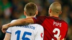 Rubrica de Desporto da VOA: O empate com sabor a derrota entre Portugal e Islândia