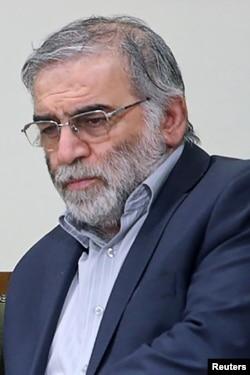 ایرانی ایٹمی سائنس دان محسن فخری زادہ، فائل فوٹو