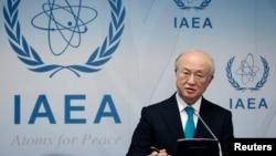 아마노 유키야 국제원자력기구(IAEA) 사무총장 (자료사진)