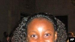 Quitéria Guirengane,do Parlamento Juvenil de Moçambique