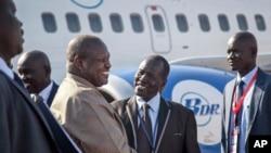 Reik Machar ya isa Juba