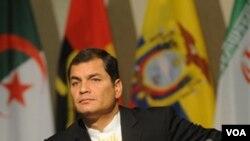 Presiden Ekuador, Rafael Correa
