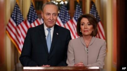 transcript democrats pelosi schumer respond to trump address rh voanews com Nancy Pelosi San Francisco Home Nancy Pelosi Home in California