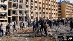 Halab shahridagi universitet vayrona