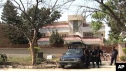 اسلام آباد کے اس گھر میں بن لادن کے اہل خانہ کو رکھا گیا تھا