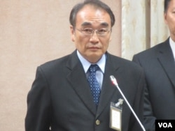台灣國安局副局長王德麟(美國之音張永泰拍攝)