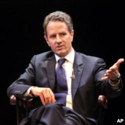 Timothy Geithner, U.S. Treasury Secretary (File Photo)