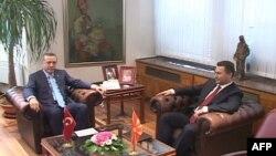 Kryeministri turk Erdogan viziton Maqedoninë