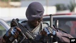 Elemento das forças especiais angolanas