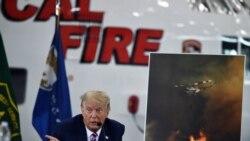 California ေတာမီးေလာင္မႈအေျခအေန Trump သြားေရာက္စစ္ေဆး