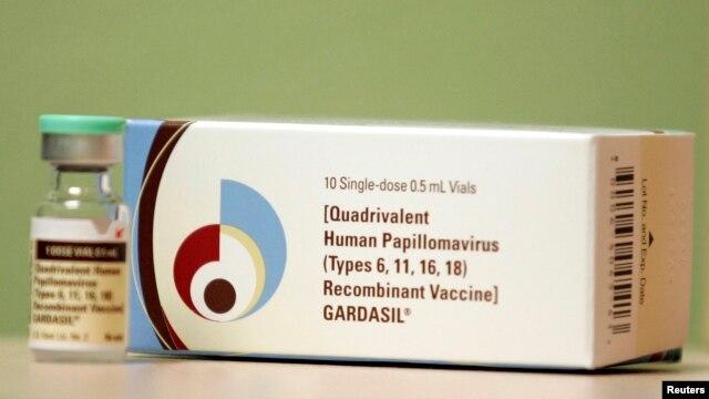 FILE - Gardasil, a Human Papillomavirus vaccine.
