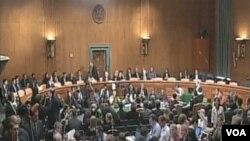 Saslušanje u Senatu je pratio veliki broj novinara