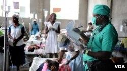 Setelah Haiti dilanda wabah kolera tahun lalu, PBB harus mengatasi wabah serupa di Kongo (foto: ilustrasi).