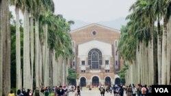 台灣大學校園資料照。