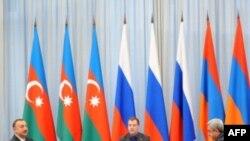 Amerika və Fransa Rusiya, Azərbaycan və Ermənistanın imzaladığı humanitar bəyanatı alqışlayır
