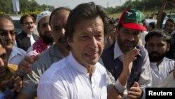 Ông Imram Khan, ngôi sao môn criket người Pakistan nay chuyển sang làm chính trị