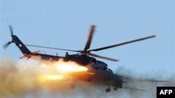 В Таджикистане разбился военный вертолет