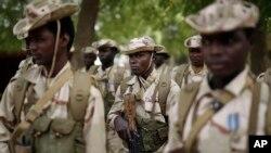 Des soldats de l'armée tchadienne