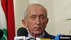 Cựu Thủ tướng Libăng Omar Karami.