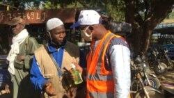 """Kayes: Bagnouma ke ton """"centre national du volontariat et les volontaires contre covid 19 Kayes"""" ka deme."""