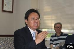 政論家陳破空 (美國之音方冰拍攝)
