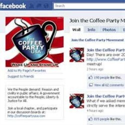 The Coffee Party USA page on Facebook
