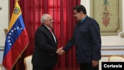 El secretario de UNASUR, Ernesto Samper reiteró el apoyo a Maduro.