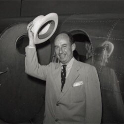 Presidential nominee Adlai Stevenson at the Democratic National Convention in 1952