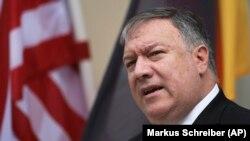 د امریکا د بهرنیو چارو وزیر مایک پمپیو